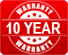 5 Years Warranty on Compressor